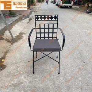Ghế ngoài trời mosaic TS115