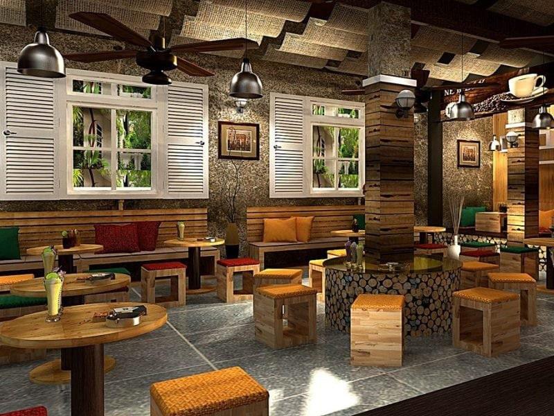 thiết kế quán cafethiết kế quán cafe đơn giản