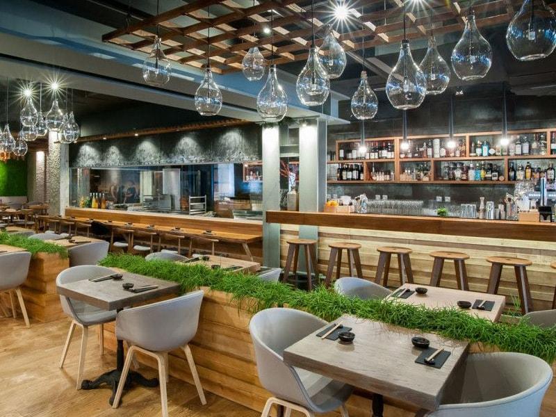 thiết kế nhà hàng hiện đại