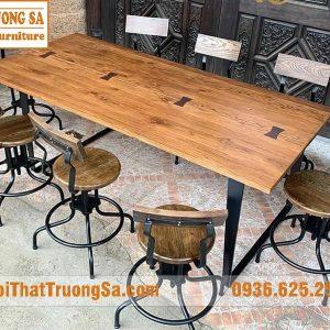 Bàn ghế cafe Vintage TS480