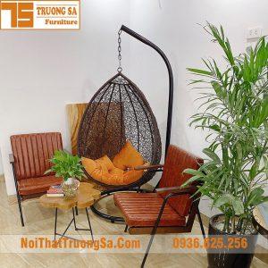 Bàn ghế sofa quán cafe TS505