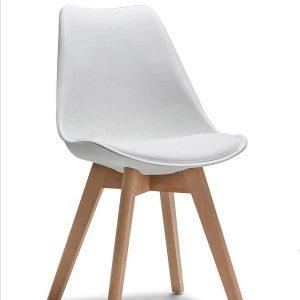 Ghế Eames chân gỗ J5