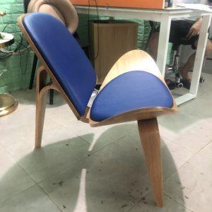 ghế cà phê gỗ Shell