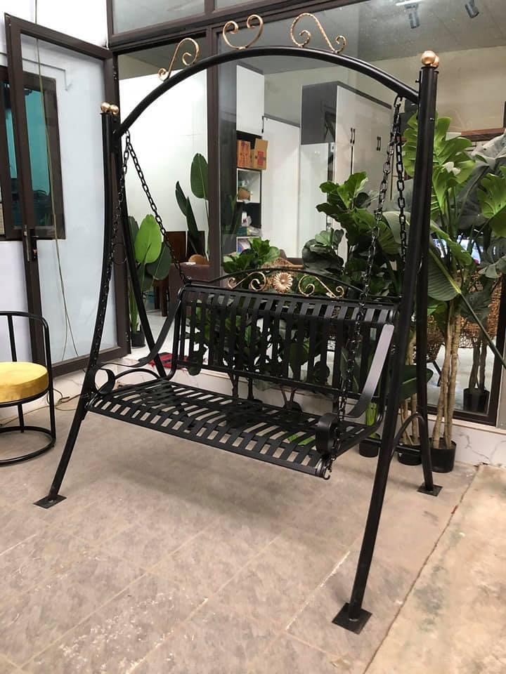 ghế xích đu sân vườn đẹp TS506