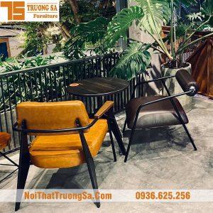 Bàn ghế cafe Vintage TS609
