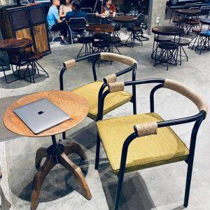Bàn ghế cafe Vintage TS610