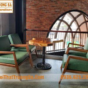 Bộ bàn ghế cafe sofa TS620